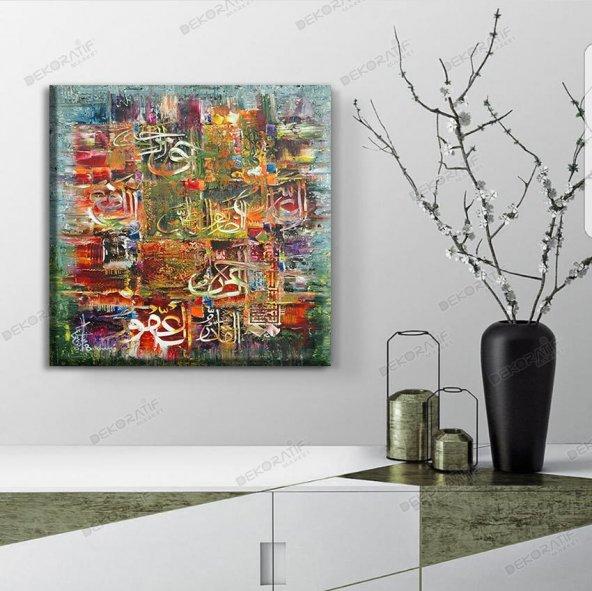 modernist soyut tablolar 70 cm x 70 cm