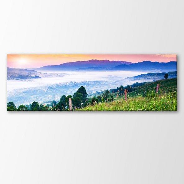 Panorama Kanvas Tablo Manzara Tabloları 120x40 cm