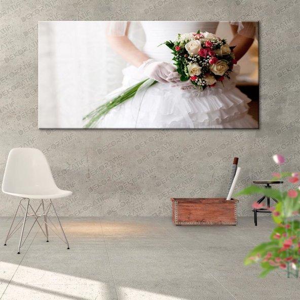 Gelin Demeti Kanvas Duvar Tablosu 50 cm x 100 cm