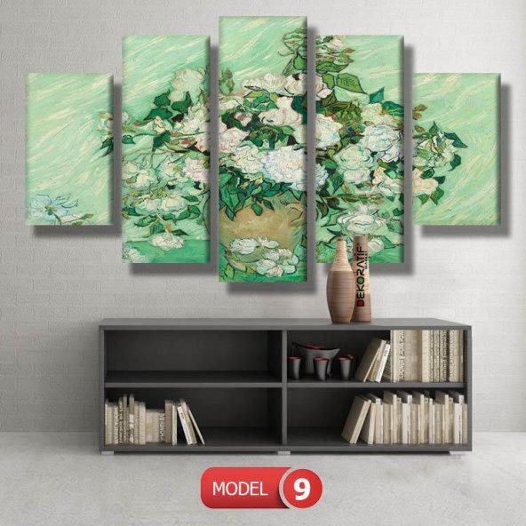 roses vincent van gogh tabloları MODEL 12 - 123x90 cm