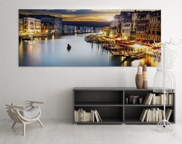 Venedik Duvar Tablosu 80 cm x 160 cm