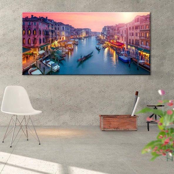 Venedik Şehir Tablosu 50 cm x 100 cm