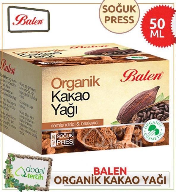 3 x Balen Organik Kakao Yağı 50 ml