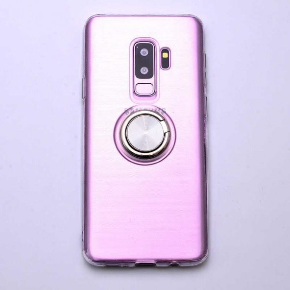 Edelfalke Galaxy S9 Plus Les Silikon Kılıf Gri