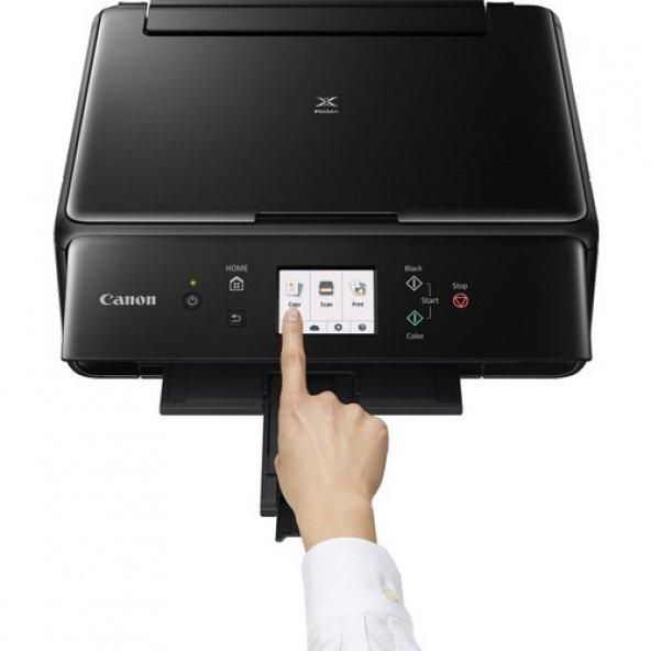 Canon Pixma TS6150 Fotokopi + Tarayıcı + Wi Fi Yazıcı - Siyah