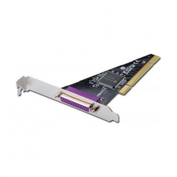 DIGITUS DS-33010-1 1 PORT PARALEL(DB25 DİŞİ) PCI KART.SUN1989