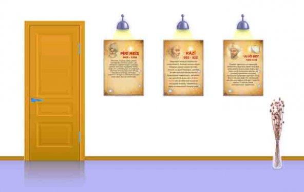Müslüman Bilim Adamları-3-Okul ve Sınıf Posterleri