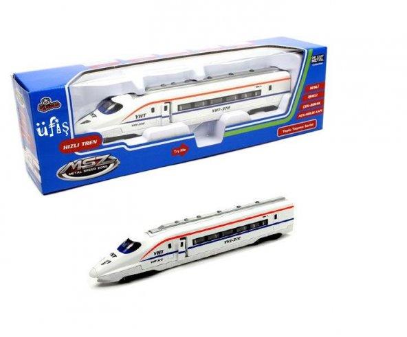 Vardem Oyuncak Çekbırak Pilli Sesli Işıklı 1:80 Yüksek Hızlı Tren Sesli Işıklı KARGO ÜCRETSİZ