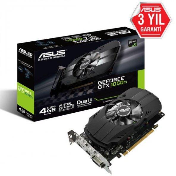 Asus STRIX-GTX1050Ti-O4G 4GB 128Bit GDDR5