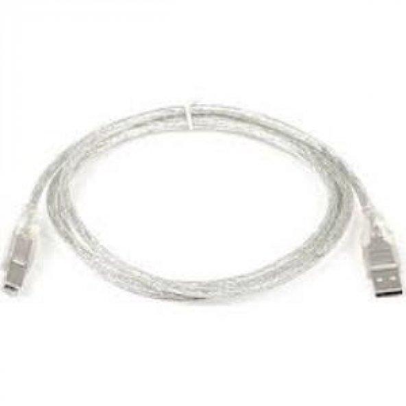 Dark 1.5mt USB 2.0 Şeffaf Kablo DK CB USB2PRNL152