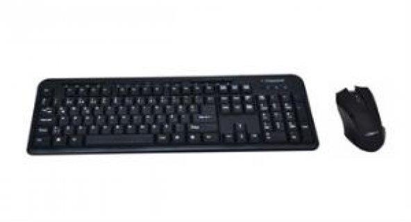 CLASSONE WK628-M03-USB F USB,Multimedya Klavye , 2B+1 Optik Mouse