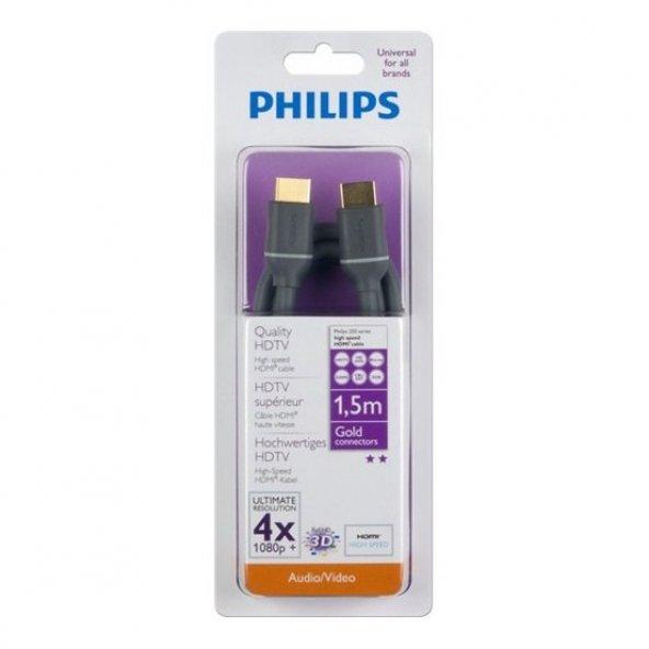 PHILIPS 1,5m HDMI KABLO+ ETHERNET, HİGH SPEED SWV4432S/10