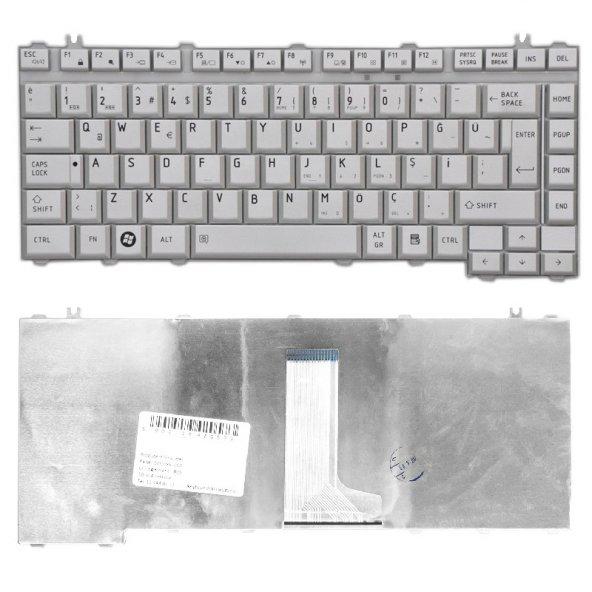 Toshiba Satellite A200, A300, L300, M200, M300 Notebook Klavyesi