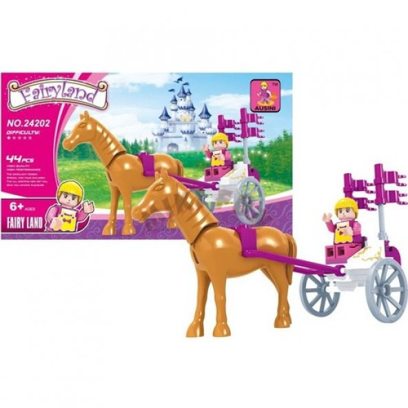 Ausini Fairyland 24202 - 44 Parça Lego Seti