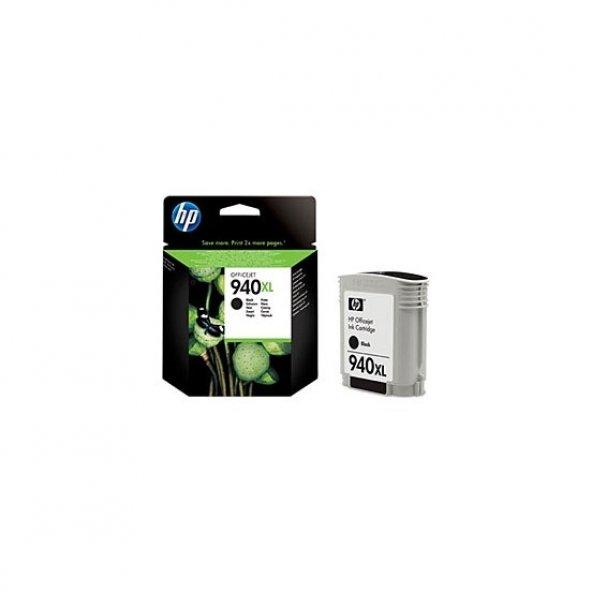HP 940XL YÜKSEK KAPASİTELİ SİYAH MÜREKKEP KARTUŞU (C4906AE )