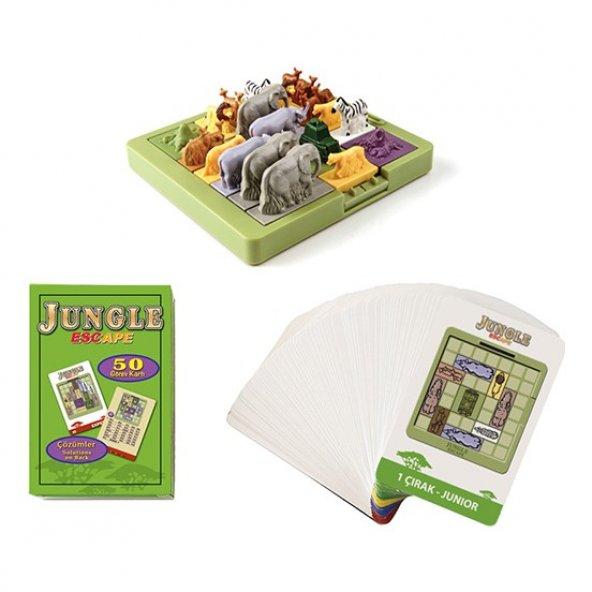 Hi-Q Toys Jungle Escape (Ormandan Kaçış) - Zeka Oyunu