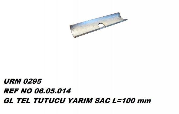 L Tel Tutucu Yarım Sac L:100 Ür.No:0295