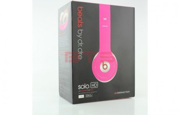 Beats Solo HD Control Talk OE Pembe Kulaküstü Kulaklık BT.900.00061.03