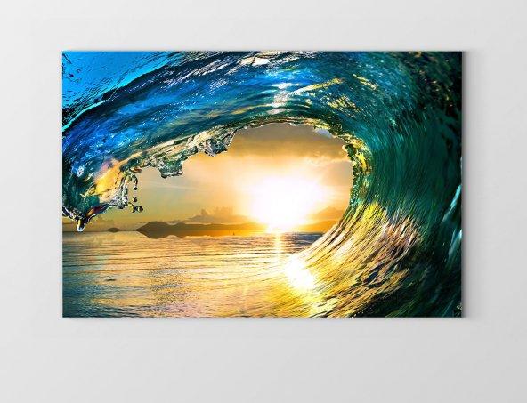 Deniz Dalgası Ve Güneş Tablosu