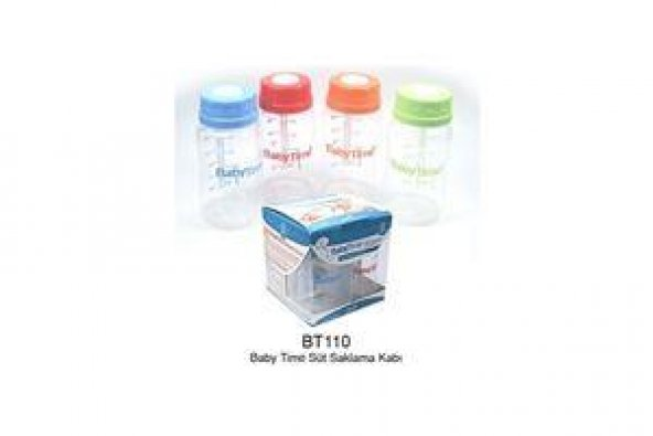 Baby Time Süt Saklama Kabı