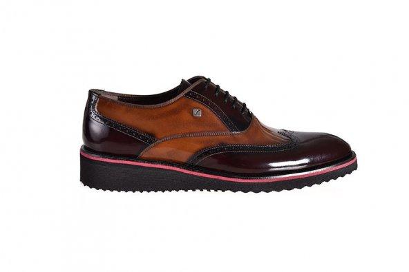 FOSCO Taba Bordo Erkek Ayakkabı 6538