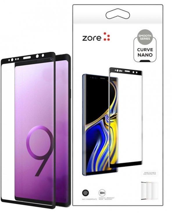 Samsung Galaxy Note 9 Nano Ekran Koruyucu Zore 3D Short Curve