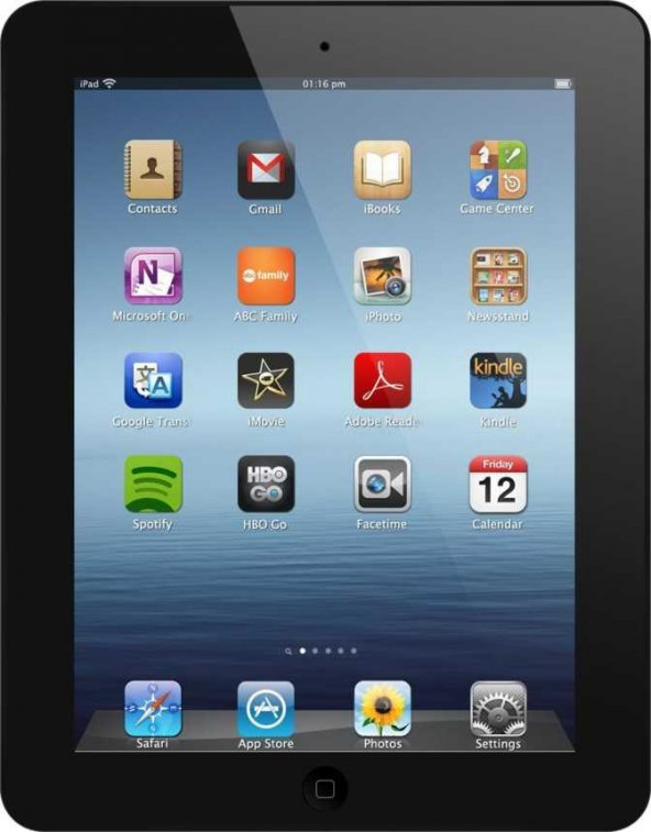Apple iPad 3.Nesil Wi-Fi+ Cellular 32GB A1430 Siyah Tablet Pc Swa