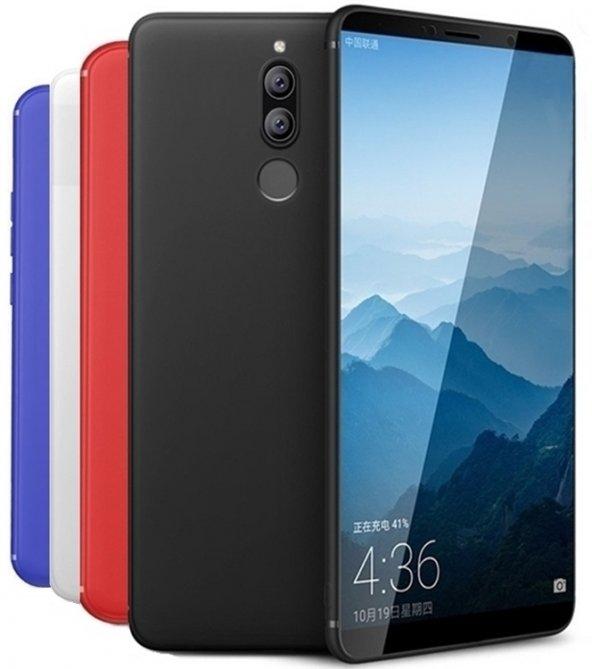 Huawei Mate 10 Lite Kılıf Silikon Kamera Korumalı