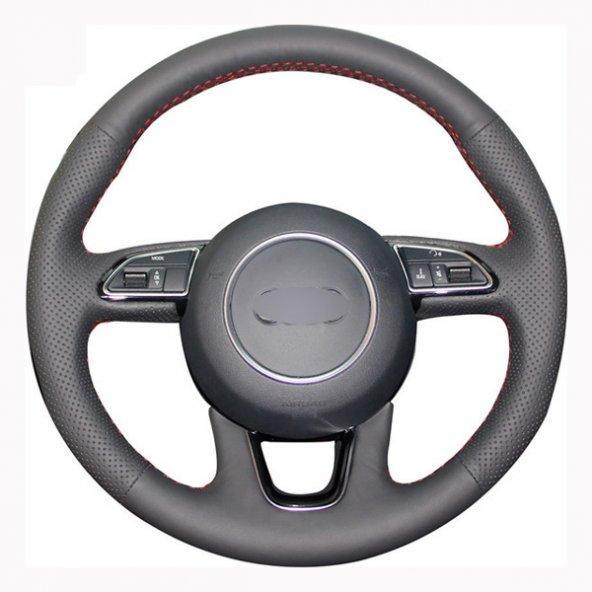 Audi Q5 2013-2015 Araca Özel Direksiyon Kılıfı