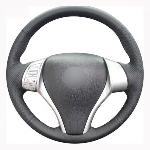 Nissan Qashqai 2014-2017 Araca Özel Direksiyon  Kılıfı