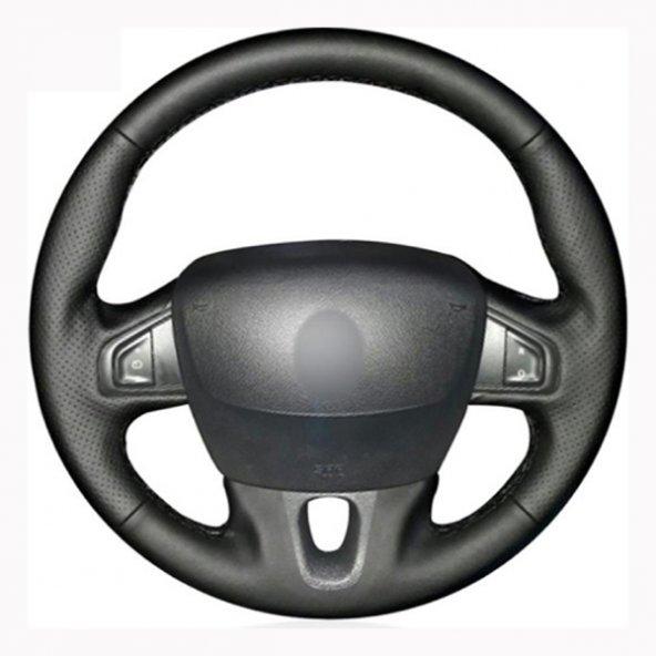 Renault Megane 2009-2014 Araca Özel Direksiyon Kılıfı