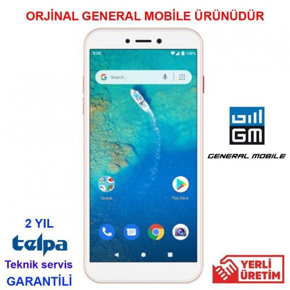 GENERAL MOBILE GM 9 GO - DUAL - GOLD ( GENERAL MOBİLE GARANTİLİ )