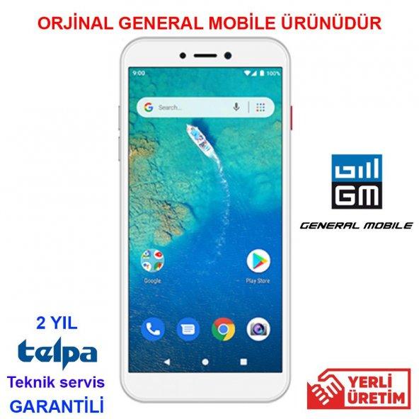GENERAL MOBILE GM 9 GO 16 GB DUAL SİLVER (GENERAL MOBİLE GARANTİLİ)