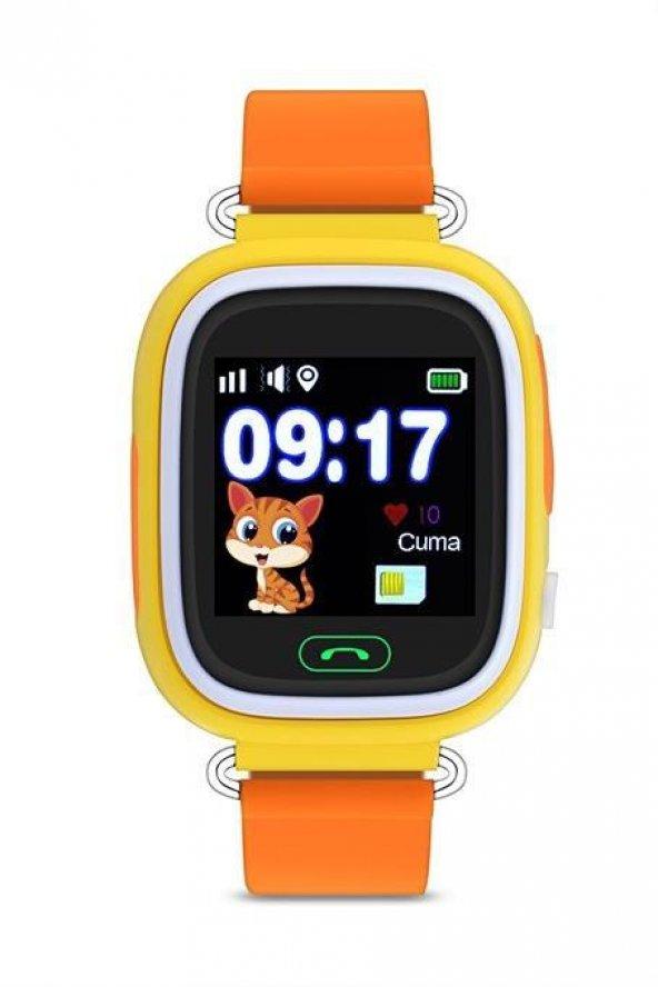 Roix-TD02 Sarı Çocuk Kol Saati