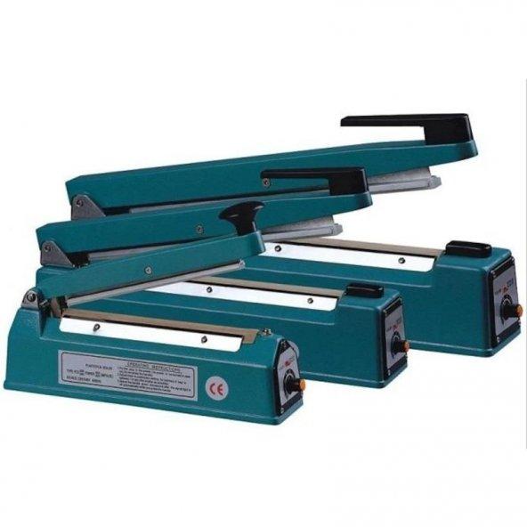 Poşet Ağzı Kapatma Yapıştırma Makinesi Alüminyum 30 Cm