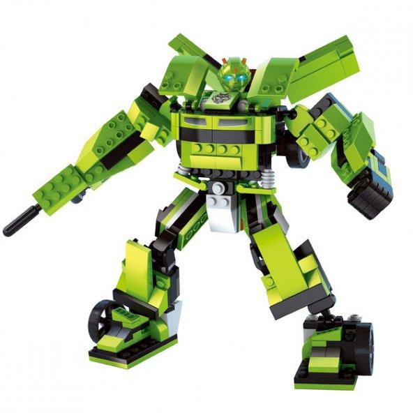 MEGA OYUNCAK |Ausini City Robot 344 Parça