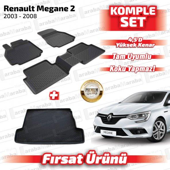 4.5D Paspas ve Bagaj Havuzu Seti Renault Megane 2 2003-2008