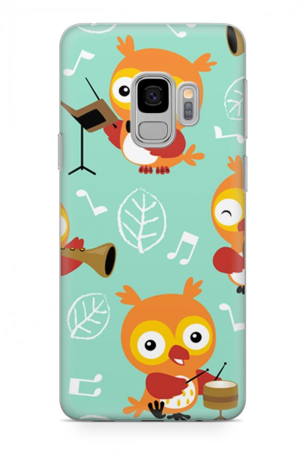 Samsung Galaxy S9 Kılıf Owl Serisi Amaya