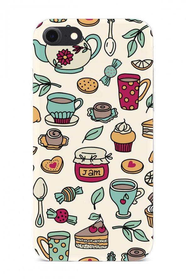 Apple iPhone 7 Kılıf Tea Time Serisi Ayla