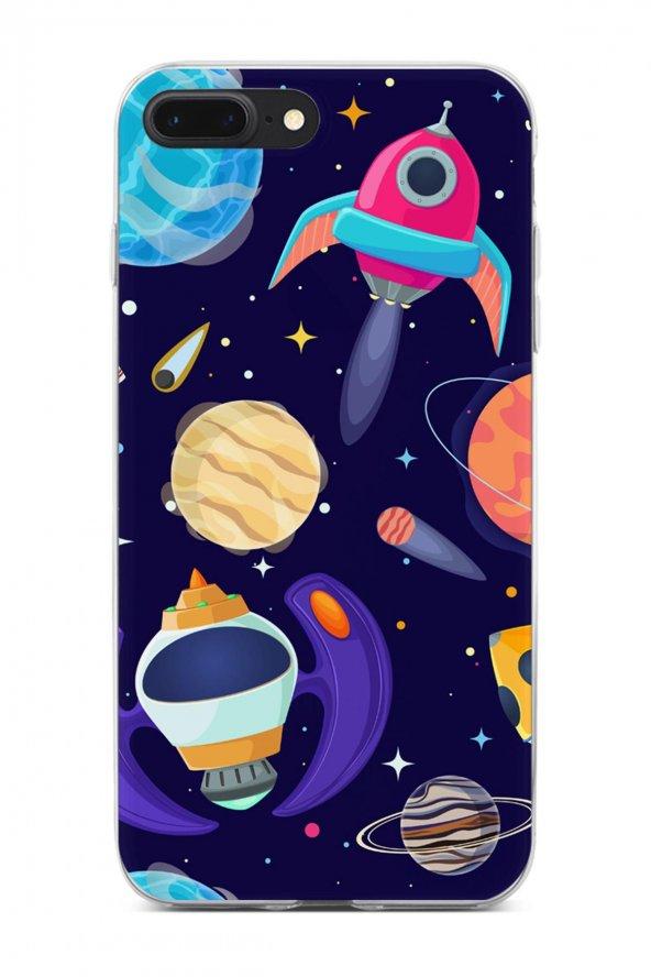 Apple iPhone 7 Plus Kılıf Space Serisi Adriana