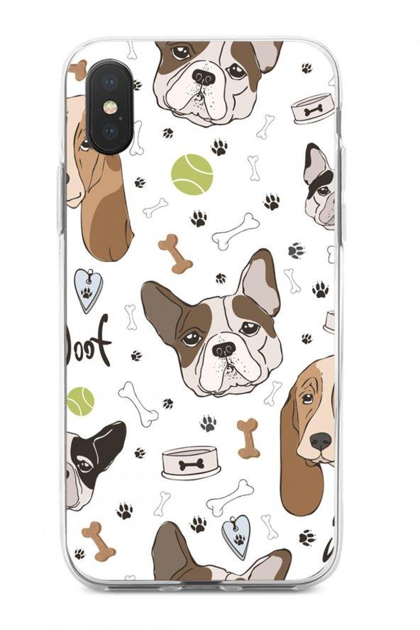 Apple iPhone XS Max Kılıf Doggie Serisi Bella