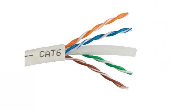 Cat-6 Network Kablosu 305 Metre CCA (TeknoGreen)