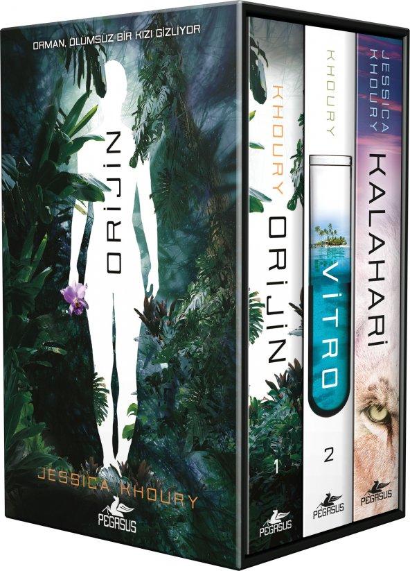 Orijin Serisi-Kutulu Özel Set (3 Kitap)