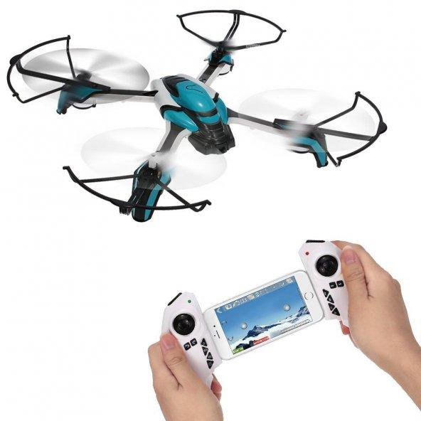 Pantonma K80 Wifi Kameralı Drone Quad Helikopter Sensörlü 2MP Mav