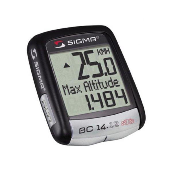 Sigma Kablosuz Kilometre Saati Bc 14.12 Sts Altı