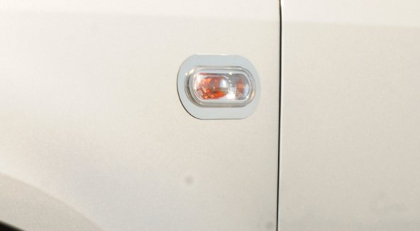 Spider Volkswagen Caddy(10-14) Sinyal Çerçevesi 2 Prç. Krom