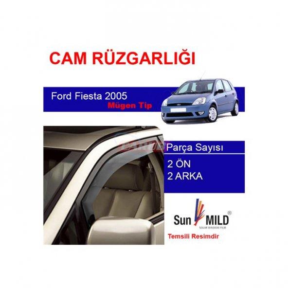 SUN MILD* Rüzgarlık  Ford Fiesta 98-2004 Mugen 4Lü