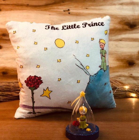 Küçük Prensin Hayal Dünyası 2li Pofuduk Hediye Seti
