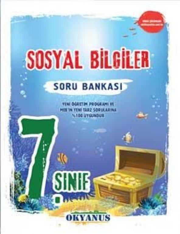 Okyanus Yayınları 7. Sınıf Sosyal Bilgiler Soru Bankası