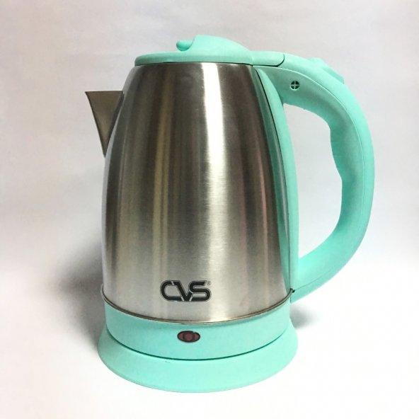 Cvs DN-2318 Turkuaz Çelik Su Isıtıcı - Yeşil
